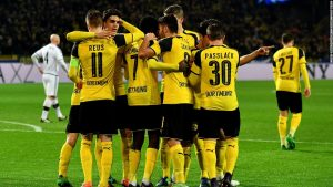 Borussia Dortmund and Legia Warsaw in Champions League goal-fest