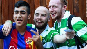 Football and politics unite fans