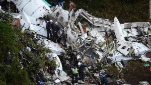 Plane in Colombia accident was carrying soccer team