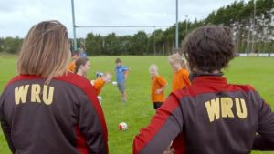 Get Inspired: Wales stars Sioned Harries +ACY-amp+ADs Shona Powell-Hughes on benefits of rugby