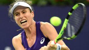 Johanna Konta beats Caroline Garcia at WTA Elite Trophy to reach semi-finals