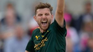 Harry Gurney: Nottinghamshire seamer signs contract extension