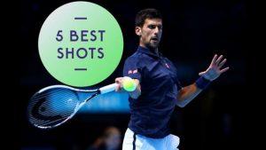 ATP World Tour Finals: Five great shots as Novak Djokovic beats Dominic Thiem