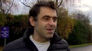Running helping snooker star Ronnie O'Sullivan 'create my own happiness'