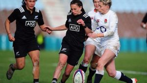 England 20-25 New Zealand: Red Roses lose as Rochelle Clark sets caps record