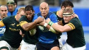 Italy beat South Africa 20-18 to secure first ever win over Springboks