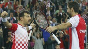 Croatia win doubles for Davis Cup final lead