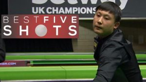 UK Championship 2016: Stuart Bingham loses to Yu Delu – best shots