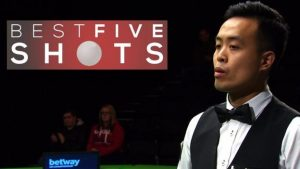 UK Championship: Five superb shots as Fu overcomes Mei