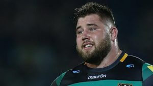Northampton & England prop Brookes banned for two weeks