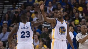 Green rips 'desperate' C's fans for booing Durant
