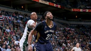 Pelicans' Davis in exclusive company after 10 games