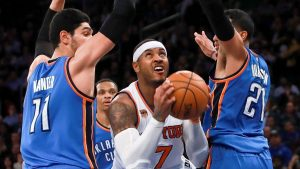 Knicks' big men 'manhandled' and 'outmuscled' in loss to Thunder