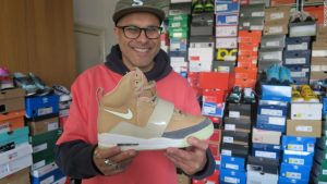 The man who owns 2,000 pairs of sneakers