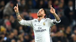 Barca despair as Ramos salvages point for Real