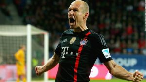Bayern Munich: Locker room confidential with Arjen Robben