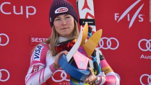 Ski World Cup: Mikaela Shiffrin wins 11th straight slalom