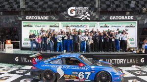 The Racers Group reunites with Porsche for return to IMSA Rolex 24 at Daytona