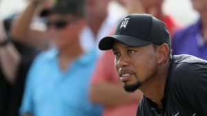 Tiger Woods returns with over-par round at World Hero Challenge