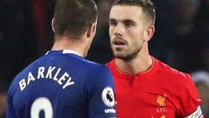 Barkley said sorry for tackle – Henderson