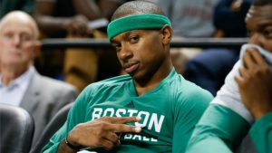 WATCH: Celtics' Isaiah Thomas scores 44 points about as efficiently as possible
