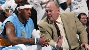 Former coach Karl lambasts Melo in new book