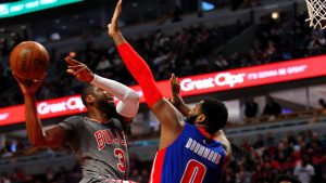Bulls play most complete game of season in win over Pistons