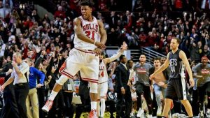 Jimmy Butler continues to like and make the big shot