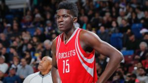 Rockets' Capela out vs. Spurs with injured leg