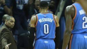 Russell Westbrook ejected in loss to Grizzlies, no triple-double in sight