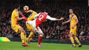 Giroud dubbed 'Scorpion King' after wonder goal