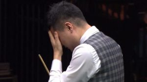 Masters snooker: Ding Junhui misses out on another 147