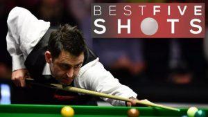Masters 2017: Best five shots as Ronnie O'Sullivan reaches final