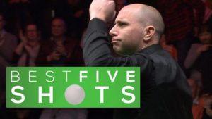 Masters 2017: Five great shots as Joe Perry stuns Barry Hawkins
