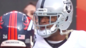 Aqib Talib says he told Michael Crabtree he'd 'snatch' gold necklace, which he did