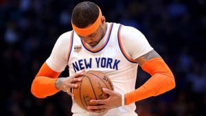 Four-overtime loss perfectly encapsulates Carmelo Anthony's career with Knicks