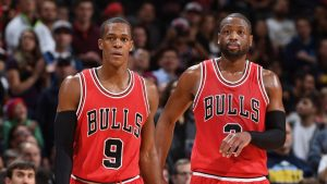 Benched Rondo meets with GM about future