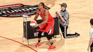 With vacation nixed, McCollum in 3-point contest