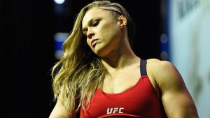 Jon Jones gives Ronda Rousey sound advice: 'Pick yourself up and try again'