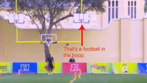 WATCH: Kicker channeling Steph Curry, synchronized punting win Pro Bowl week