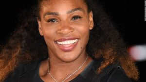 Serena shocks players on public tennis court