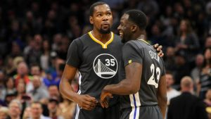 Draymond Green calls argument with Warriors teammate Kevin Durant 'a tactic'