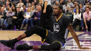 Kings topple Warriors in slugfest behind Cousins while Durant disappears