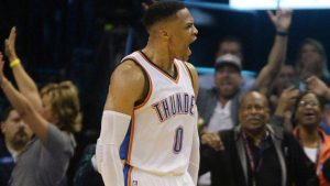 Russell Westbrook does it again, records second straight 40-point triple-double