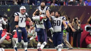 Julian Edelman predicted the Patriots' Super Bowl comeback at halftime