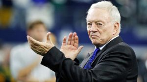 Jerry Jones hints that the Cowboys might be looking to trade in NFL Draft