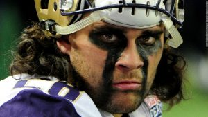 Tattooed 'fire warrior' turns down NFL chance