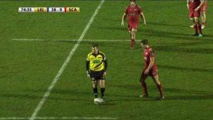 Nigel Owens: Referee gives ball boy a yellow card