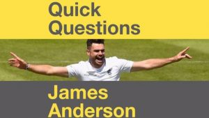 James Anderson: Horses, Ashes and 500 Test wickets