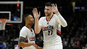 Trail Blazers' Jusuf Nurkic will miss rest of regular season with broken leg